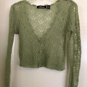 Effeci ,crap top , size S , long sleeves